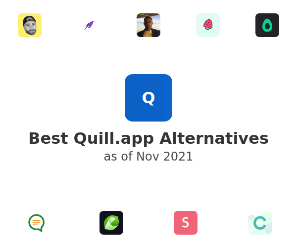 Best Quill.app Alternatives