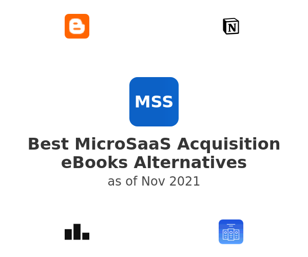Best MicroSaaS Acquisition eBooks Alternatives