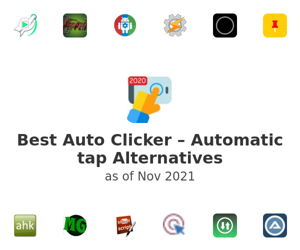 Best Auto Clicker – Automatic tap Alternatives
