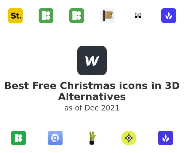Best Free Christmas icons in 3D Alternatives
