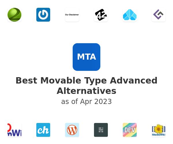 Best Movable Type Advanced Alternatives