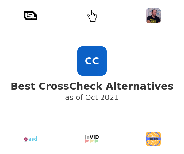 Best CrossCheck Alternatives