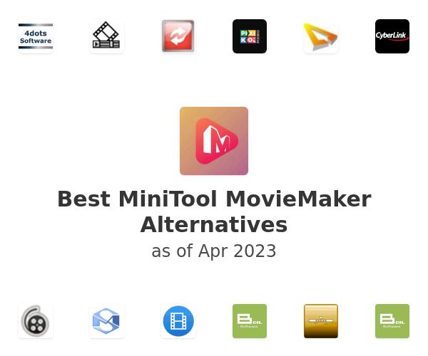 Best MiniTool MovieMaker Alternatives