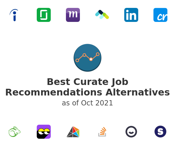 Best Curate Job Recommendations Alternatives