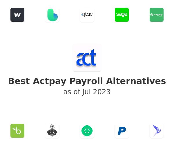 Best Actpay Payroll Alternatives