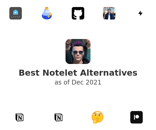 Best Notelet Alternatives