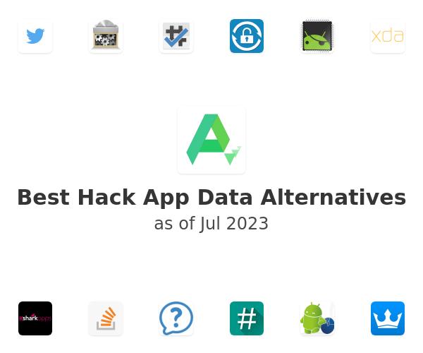 Best Hack App Data Alternatives