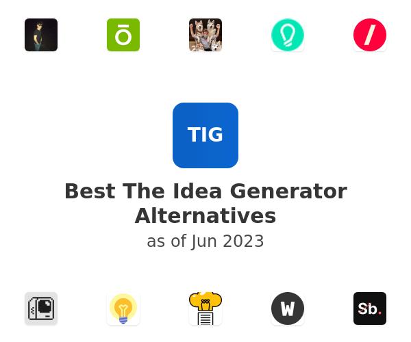 Best The Idea Generator Alternatives