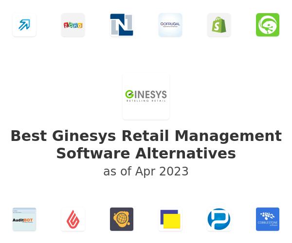 Best Ginesys Retail Management Software Alternatives