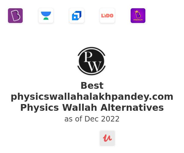Best Physics Wallah Alternatives