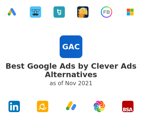 Best Google Ads by Clever Ads Alternatives