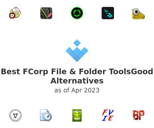 Best FCorp File & Folder ToolsGood Alternatives