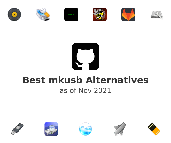 Best mkusb Alternatives