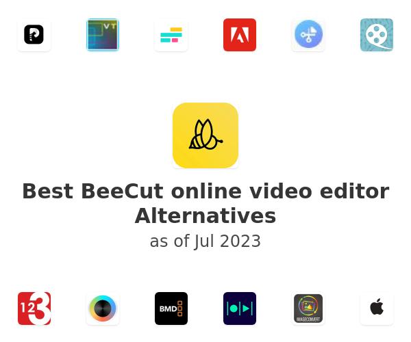 Best BeeCut online video editor Alternatives