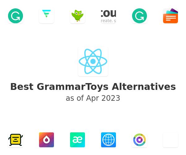 Best GrammarToys Alternatives