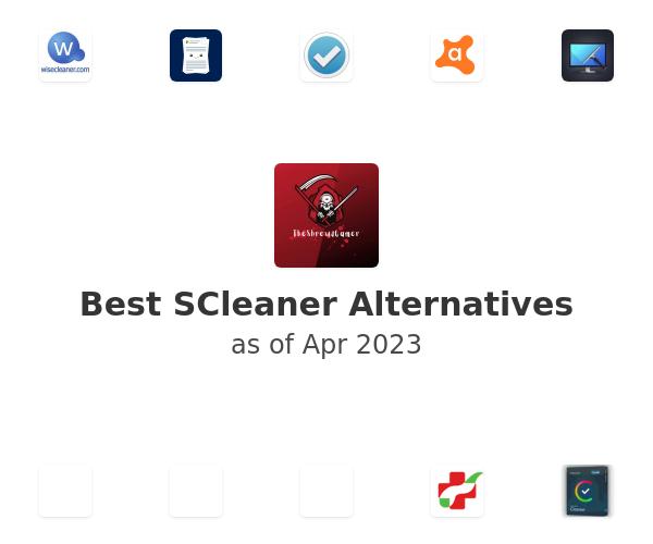 Best SCleaner Alternatives