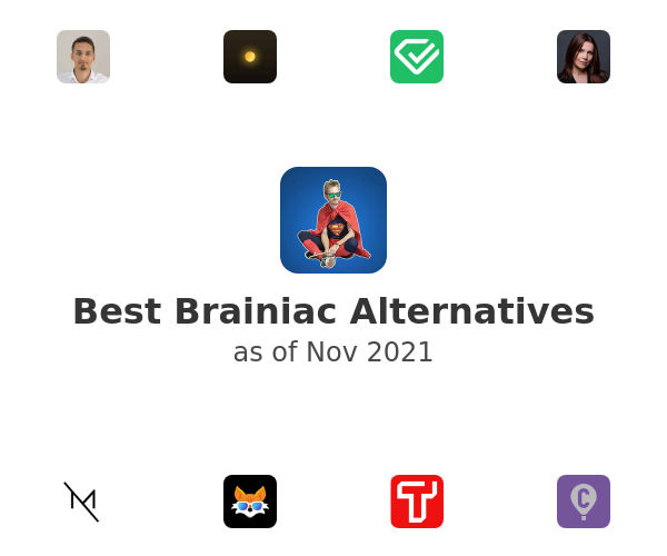 Best Brainiac Alternatives