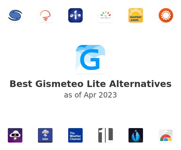 Best Gismeteo Lite Alternatives