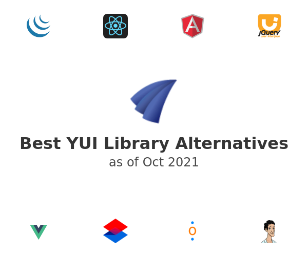 Best YUI Library Alternatives