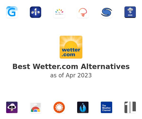 Best Wetter.com Alternatives