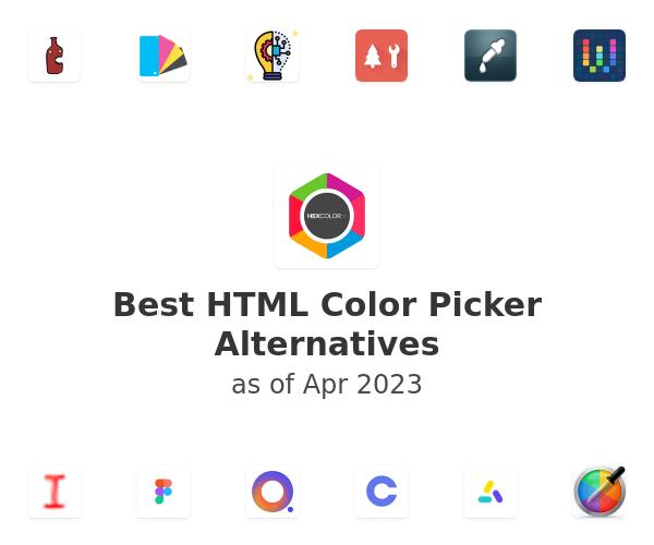 Best HTML Color Picker Alternatives