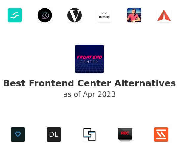 Best Frontend Center Alternatives