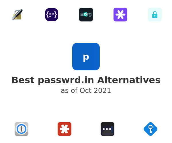 Best passwrd.in Alternatives