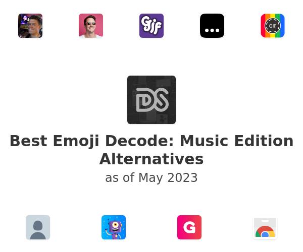 Best Emoji Decode: Music Edition Alternatives