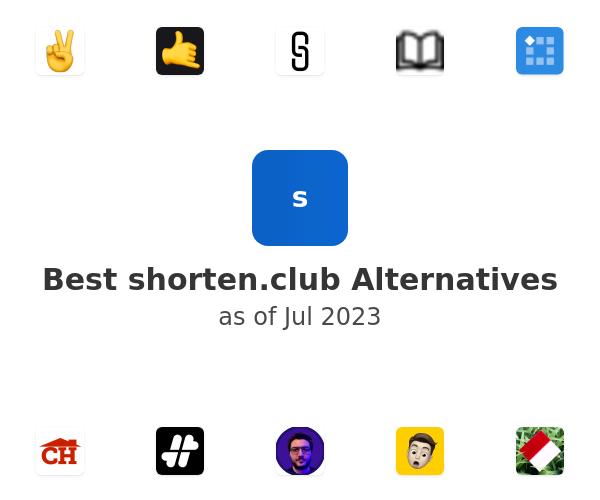 Best shorten.club Alternatives