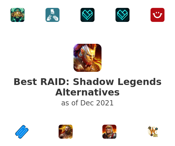 Best RAID: Shadow Legends Alternatives
