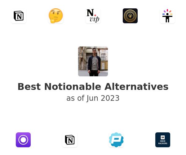 Best Notionable Alternatives