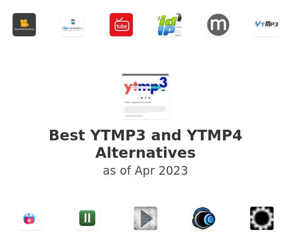 Best YTMP3 and YTMP4 Alternatives