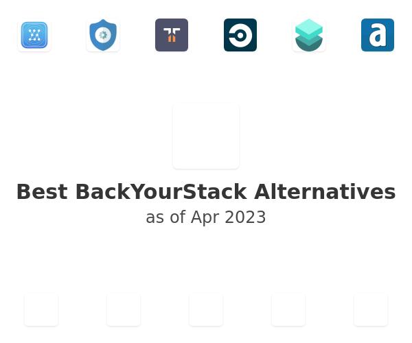 Best BackYourStack Alternatives