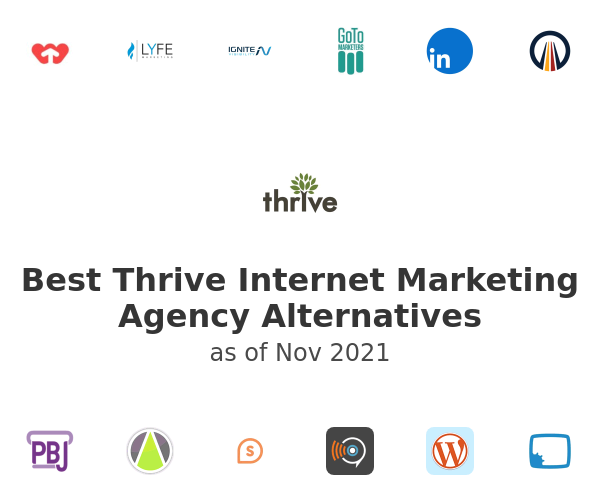 Best Thrive Internet Marketing Agency Alternatives
