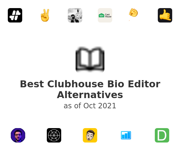 Best Clubhouse Bio Editor Alternatives