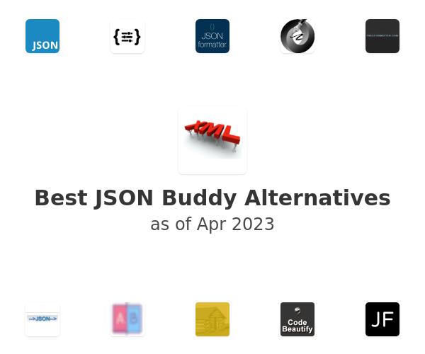 Best JSON Buddy Alternatives