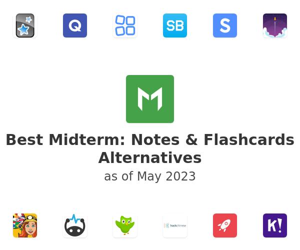 Best Midterm: Notes & Flashcards Alternatives