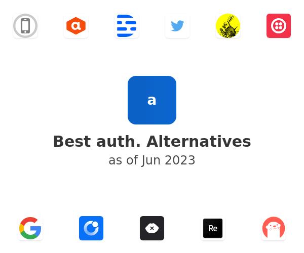 Best auth. Alternatives