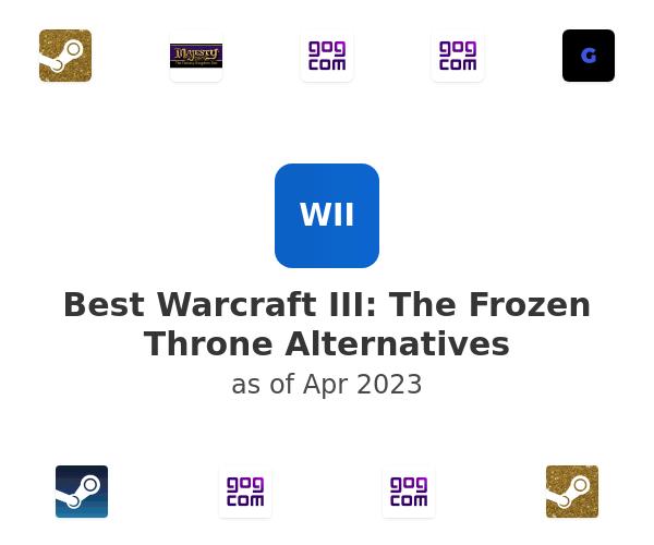 Best Warcraft III: The Frozen Throne Alternatives