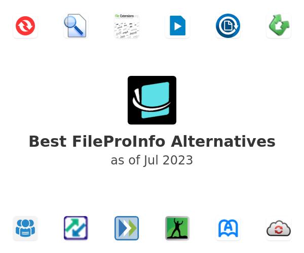 Best FileProInfo Alternatives