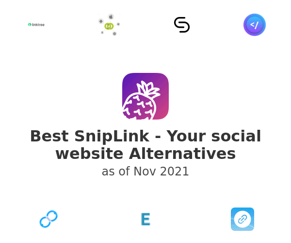 Best SnipLink - Your social website Alternatives