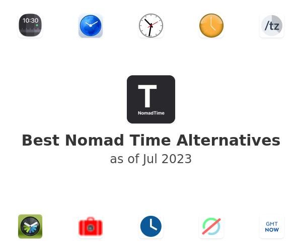 Best Nomad Time Alternatives
