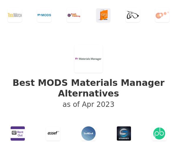 Best MODS Materials Manager Alternatives
