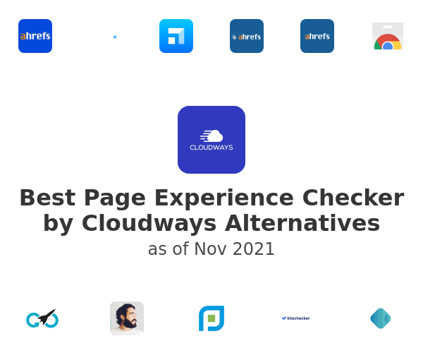 Best Page Experience Checker by Cloudways Alternatives
