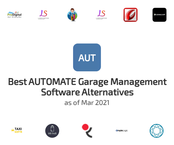 Best AUTOMATE Garage Management Software Alternatives