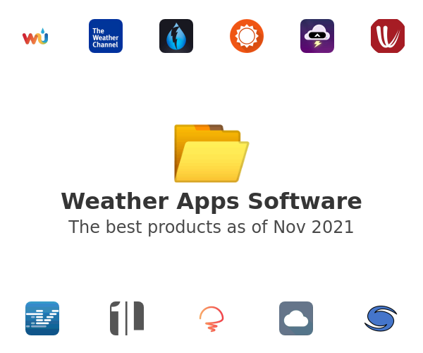 Weather Apps Software