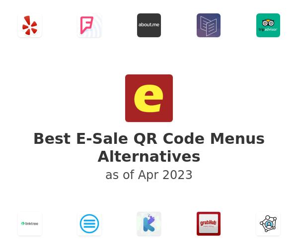 Best E-Sale QR Code Menus Alternatives