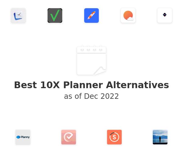 Best 10X Planner Alternatives