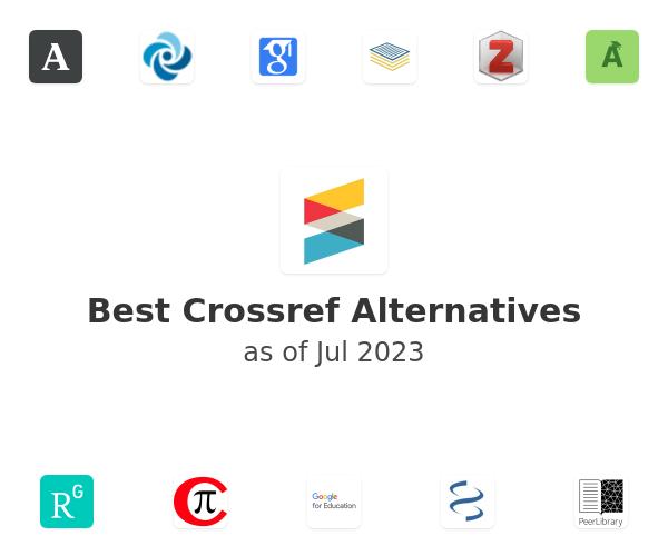Best Crossref Alternatives