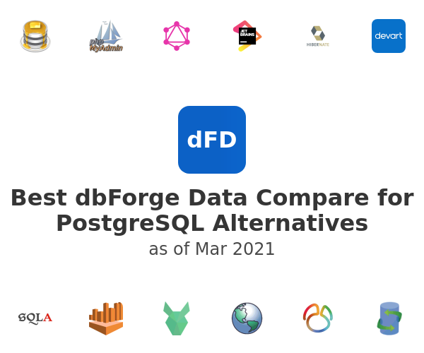 Best dbForge Data Compare for PostgreSQL Alternatives